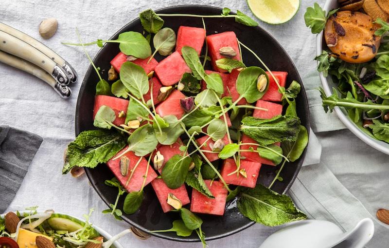 Watermelon, Salad, Paleo, Vegan, Vegetarian,