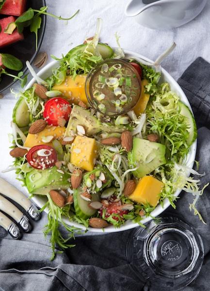 Mango, Asian, Salad, Vegan
