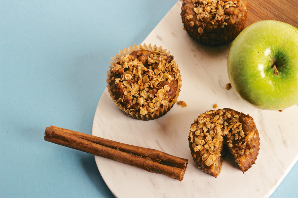 Apple Spice Spelt Muffins