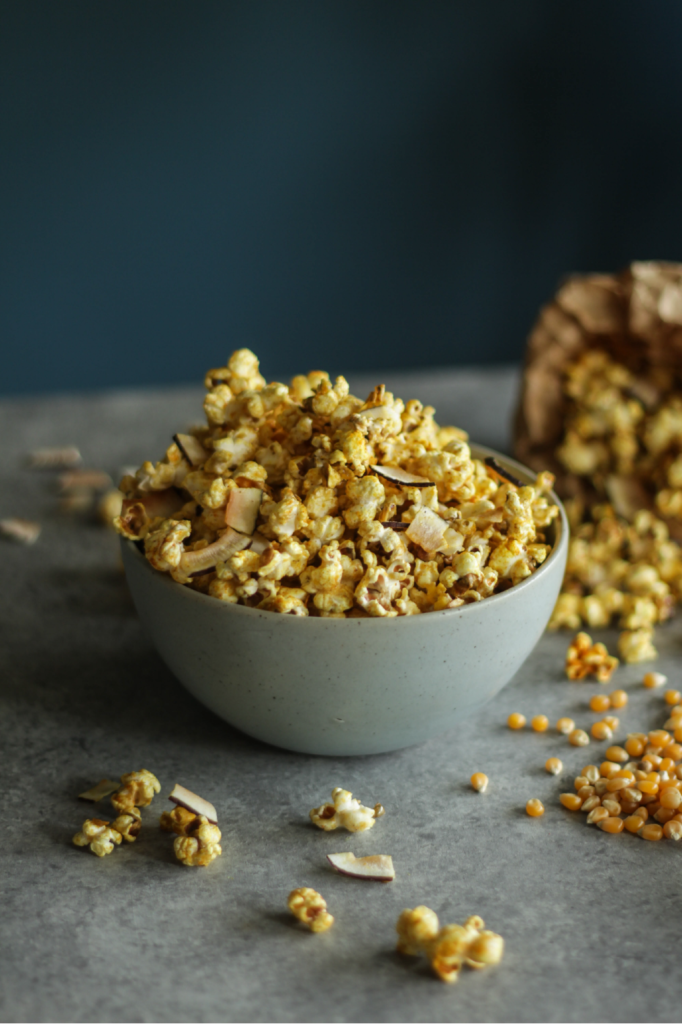 Golden popcorn