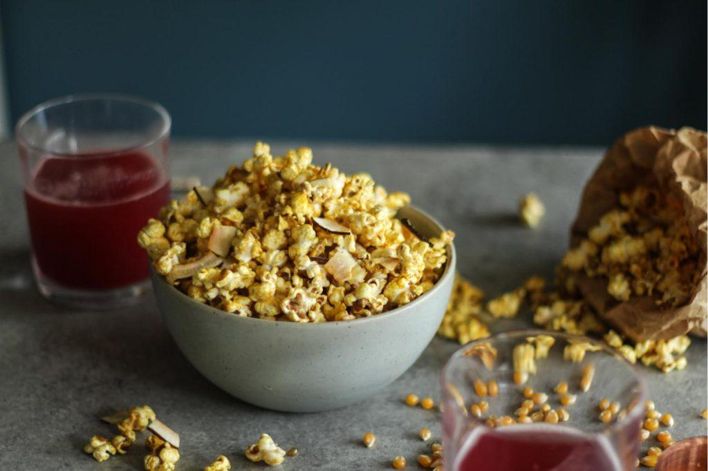 Golden popcorn- Elxr juice lab
