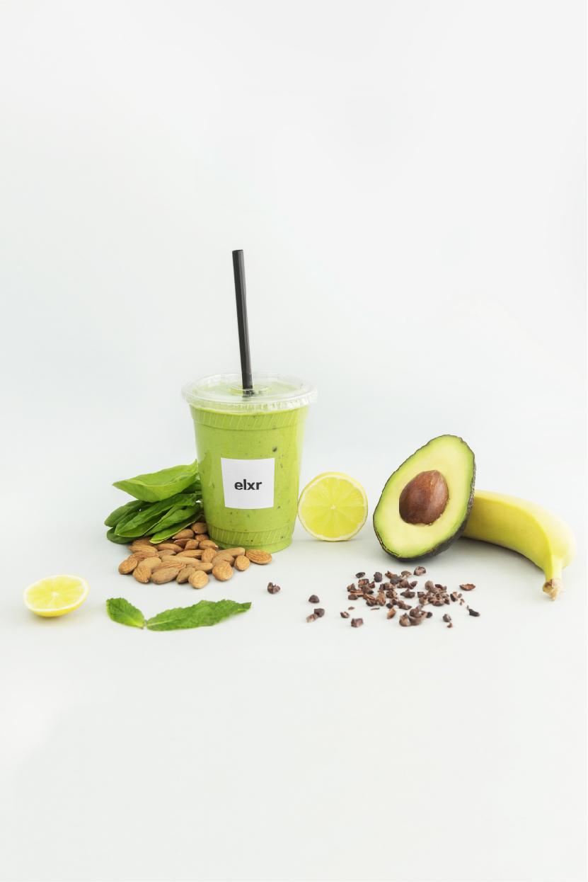Mint Chip Smoothie- Elxr juice lab
