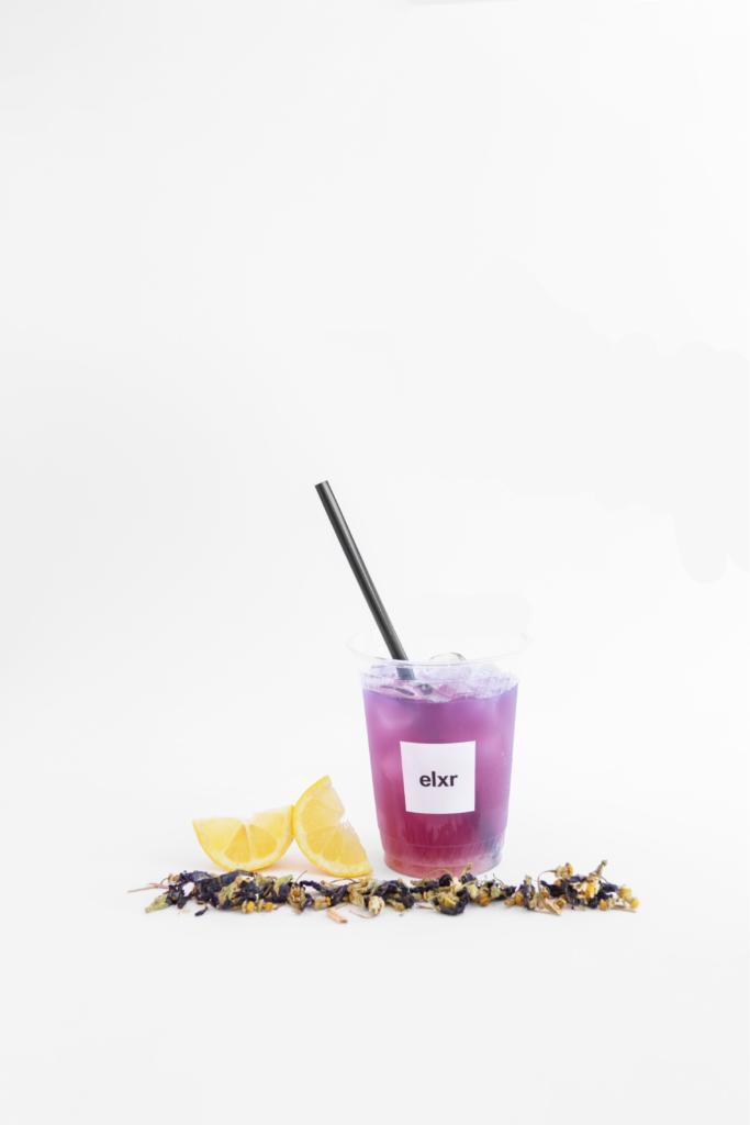Iced Blue Detox Lemonade-  Summer with ELXR