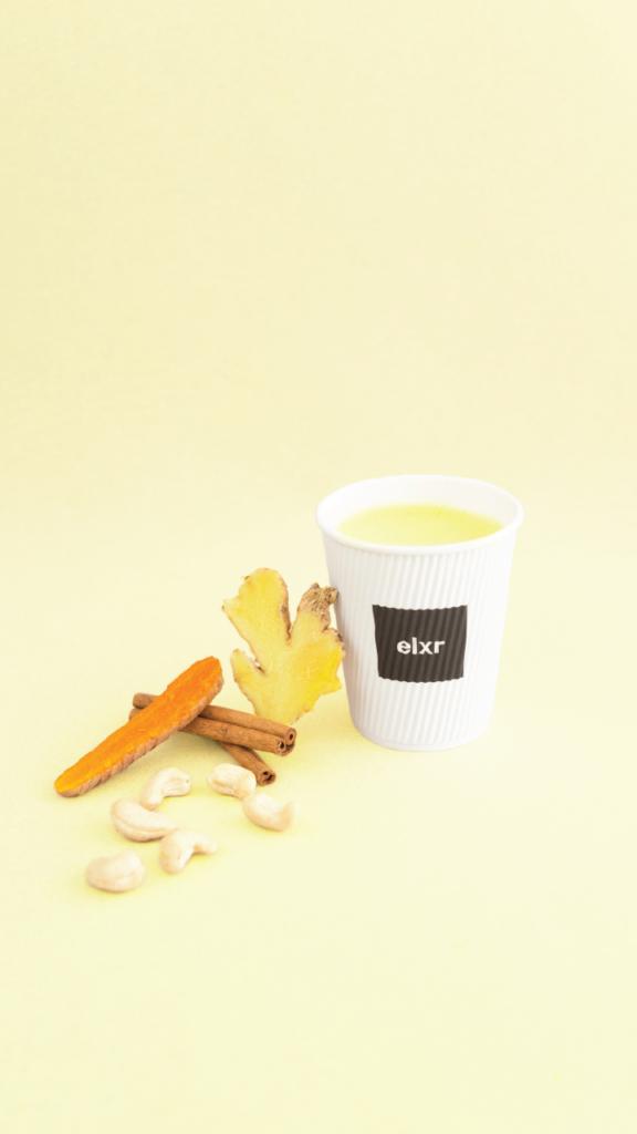 Golden Latte-  Summer with ELXR