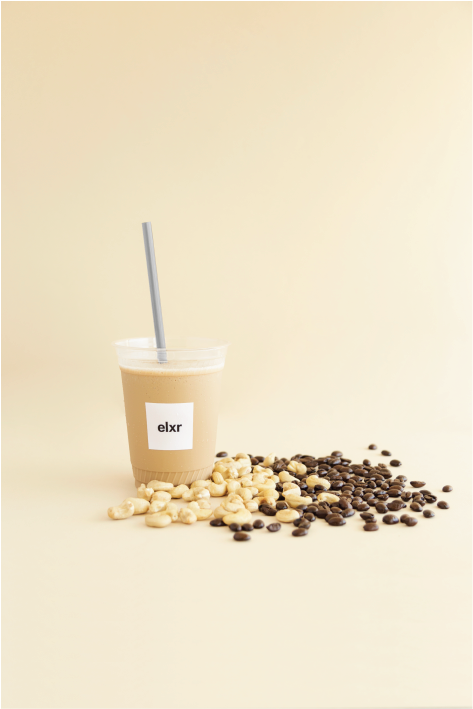 ADAPTO-FRAPP- Coffee Beverages at ELXR Juice Lab