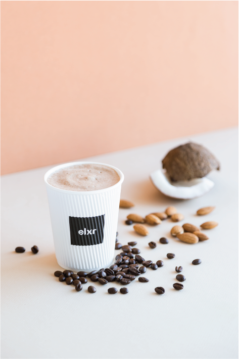 BULLET-BREW- Coffee Beverages at ELXR Juice Lab