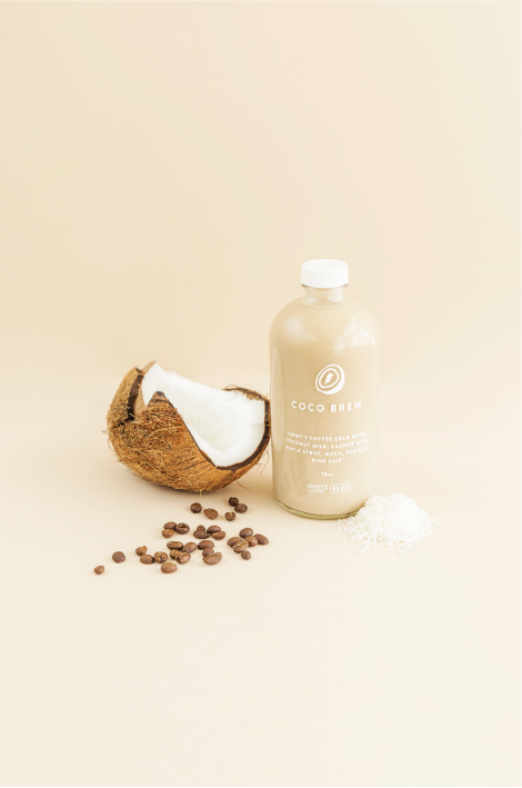 COCO BREW- Coffee Beverages at ELXR Juice Lab