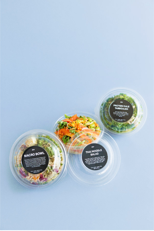 SALADS-  New food, New nourishment