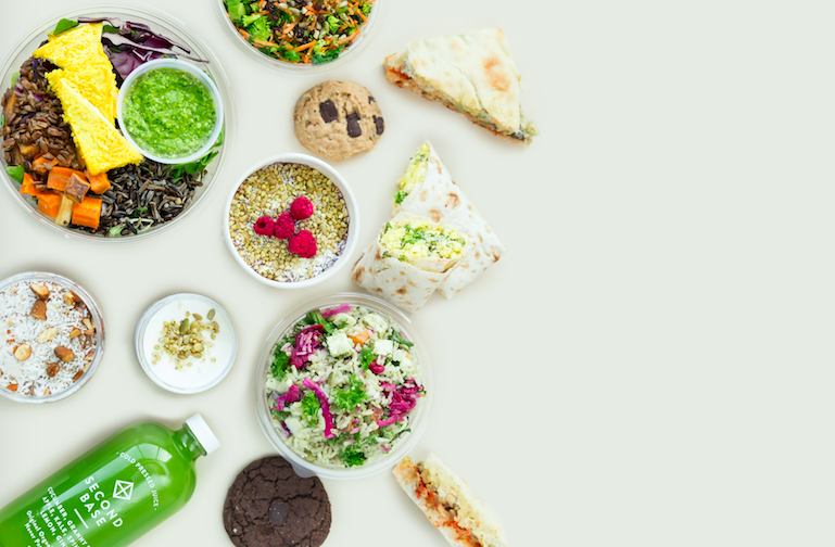 Plant-based lunch with ELXR