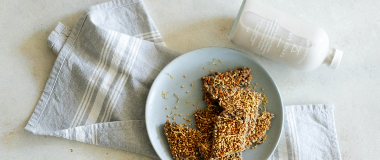 {GUEST POST//RECIPE} Pumpkin Cardamom Buckwheat Granola Bars