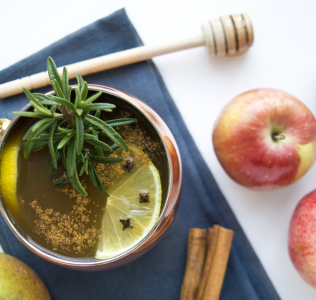{Guest Post//Recipe} The ELXR House Cider Hot Toddy