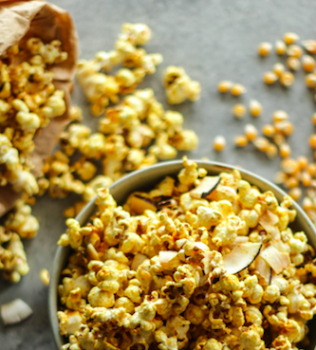 Get it poppin' Golden popcorn