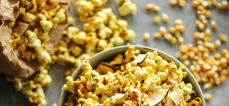 Get it poppin' Golden popcorn