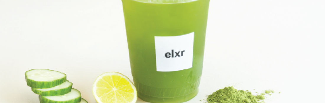 THE ELXR SUMMER MENU IS HERE